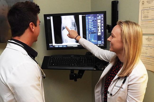 Digital radiology at Pet Wellness Animal Hospital